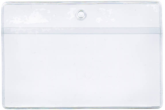 "JOB TICKET HOLDER/POUCH - OPEN ON LONG SIDE (LANDSCAPE) - EXTERNAL DIMENSIONS: 11.375"" x 17.25"""