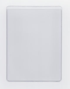 "CLEAR HEAVY DUTY VINYL SLEEVE - OPEN ON SHORT SIDE (PORTRAIT) - EXTERNAL DIMENSIONS: 9"" x 11.625"""